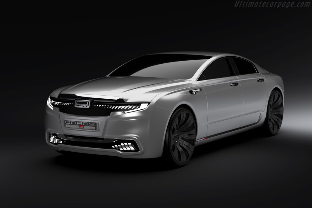 Click here to open the Qoros 9 Sedan Concept gallery