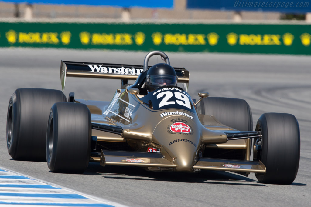Arrows A3 Cosworth - Chassis: A3-2  - 2010 Monterey Motorsports Reunion