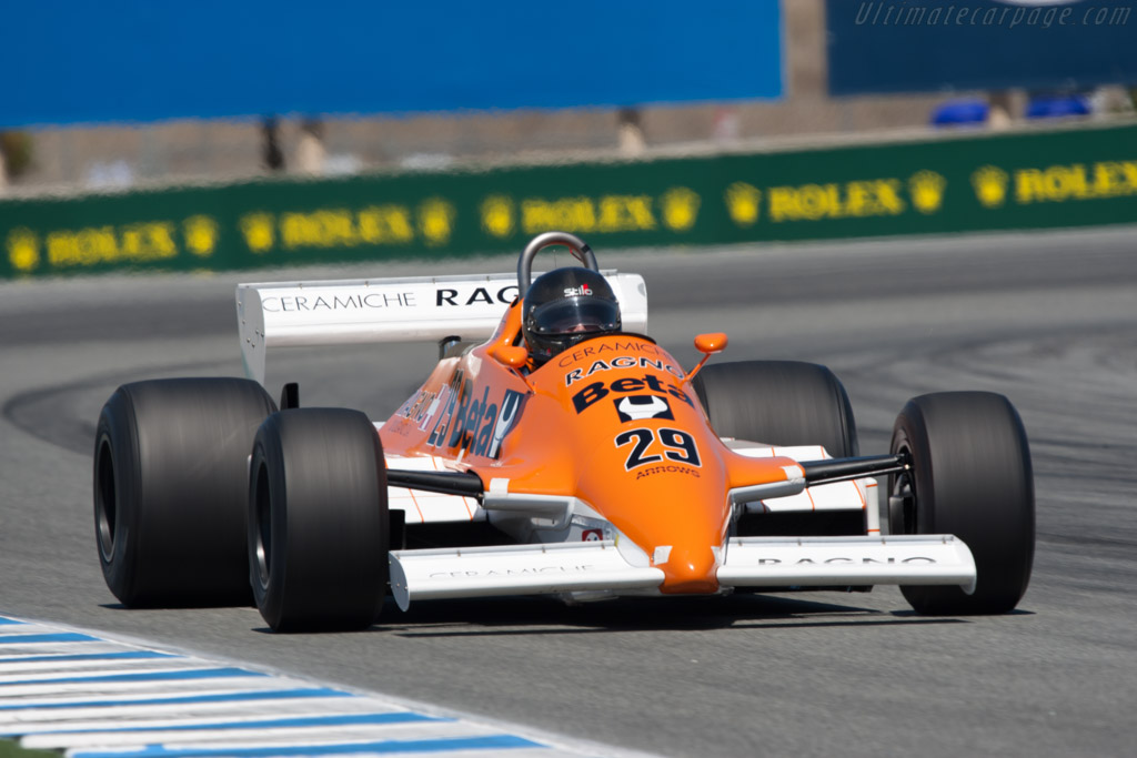 Arrows A3 Cosworth - Chassis: A3-4   - 2011 Monterey Motorsports Reunion
