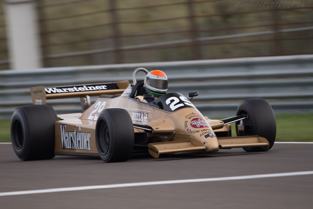 Arrows A3 Cosworth - Chassis: A3-3   - 2014 Historic Grand Prix Zandvoort