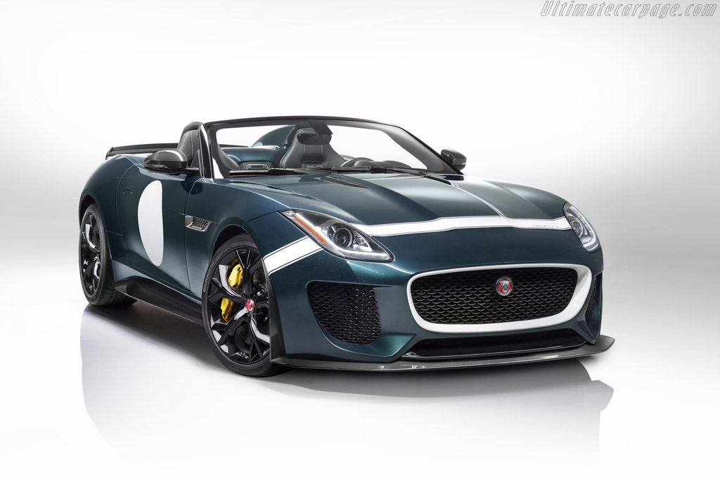Click here to open the Jaguar F-Type Project 7 gallery