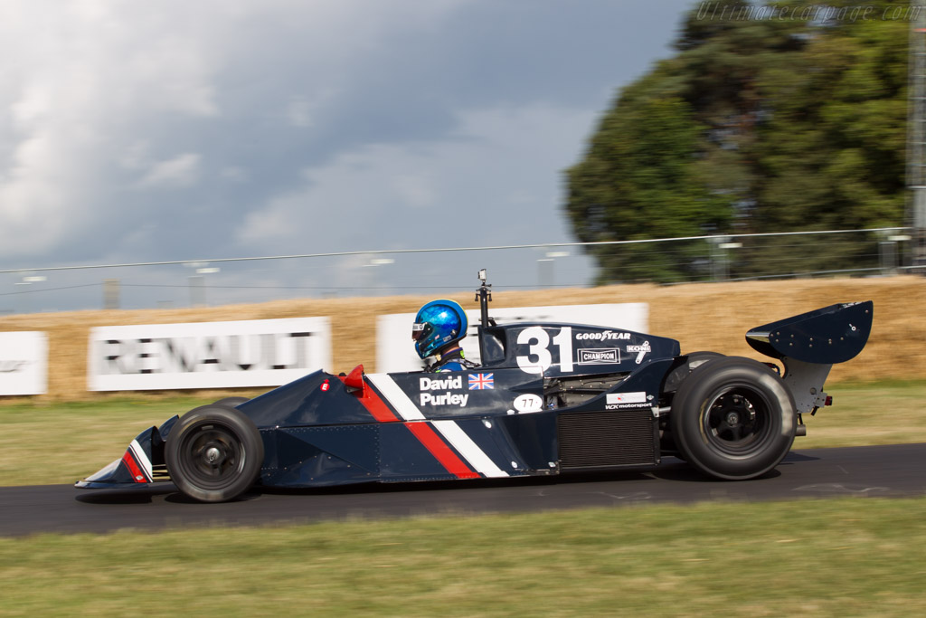 Lec CRP1 Cosworth - Chassis: CRP1-77-002   - 2014 Goodwood Festival of Speed