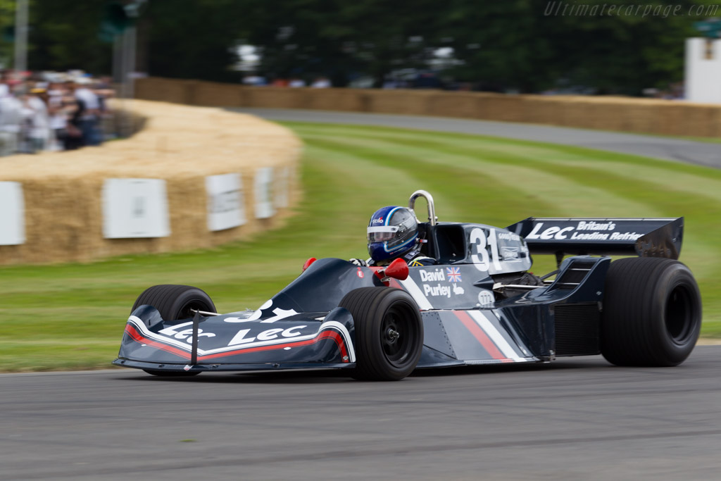 Lec CRP1 Cosworth - Chassis: CRP1-77-001   - 2015 Goodwood Festival of Speed