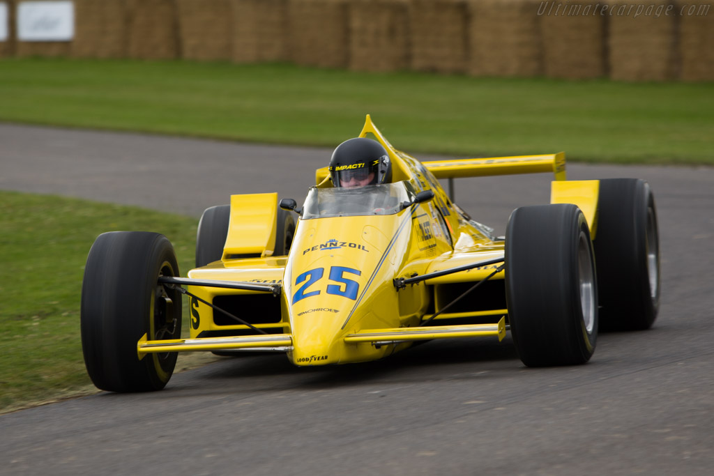 March 86C Cosworth - Chassis: 86C-22   - 2008 Goodwood Festival of Speed