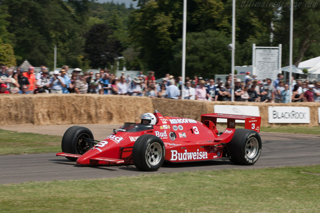 March 86C Cosworth - Chassis: 86C-13   - 2011 Goodwood Festival of Speed