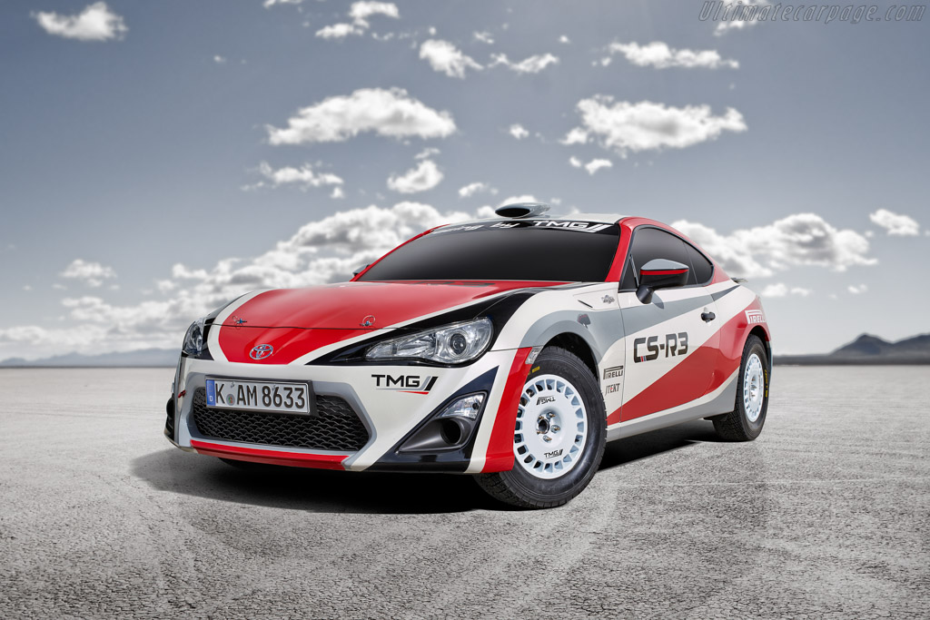 Click here to open the Toyota GT 86 CS-R3 gallery