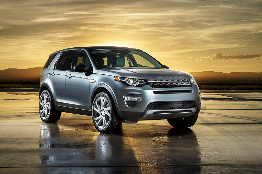 Click here to open the Land Rover Discovery Sport gallery