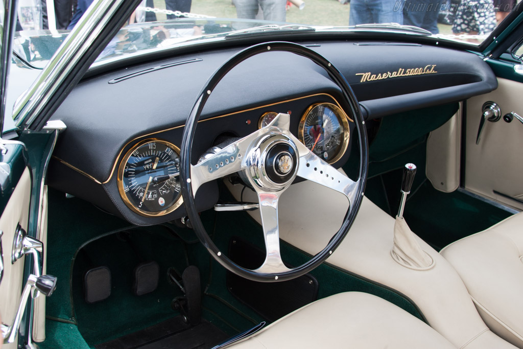 Maserati 5000 GT Touring Coupe - Chassis: 103.004   - 2014 Pebble Beach Concours d'Elegance