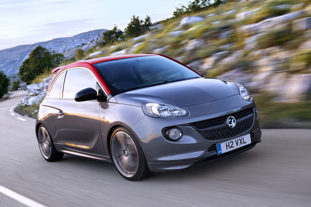 Click here to open the Vauxhall Adam S gallery