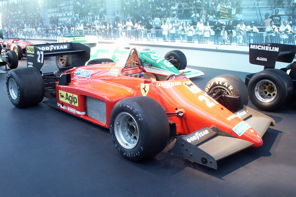 Click here to open the Ferrari 156-85 F1 gallery