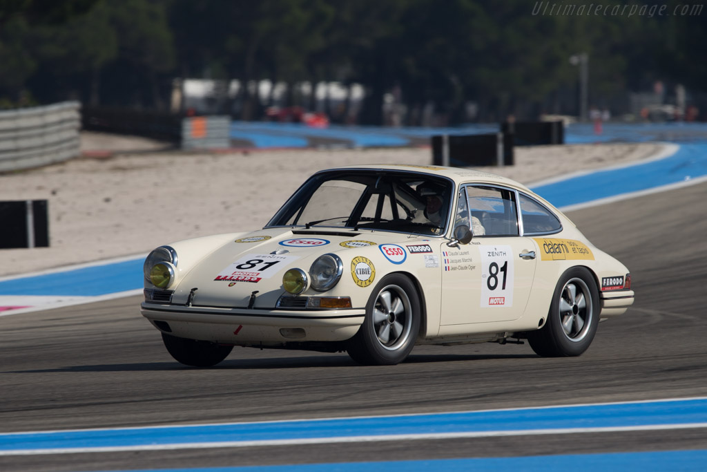 Porsche 911 T R Chassis 118 20 780 2014 Dix Mille Tours