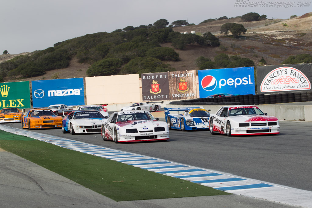 Ford Roush Mustang - Chassis: 008   - 2014 Monterey Motorsports Reunion