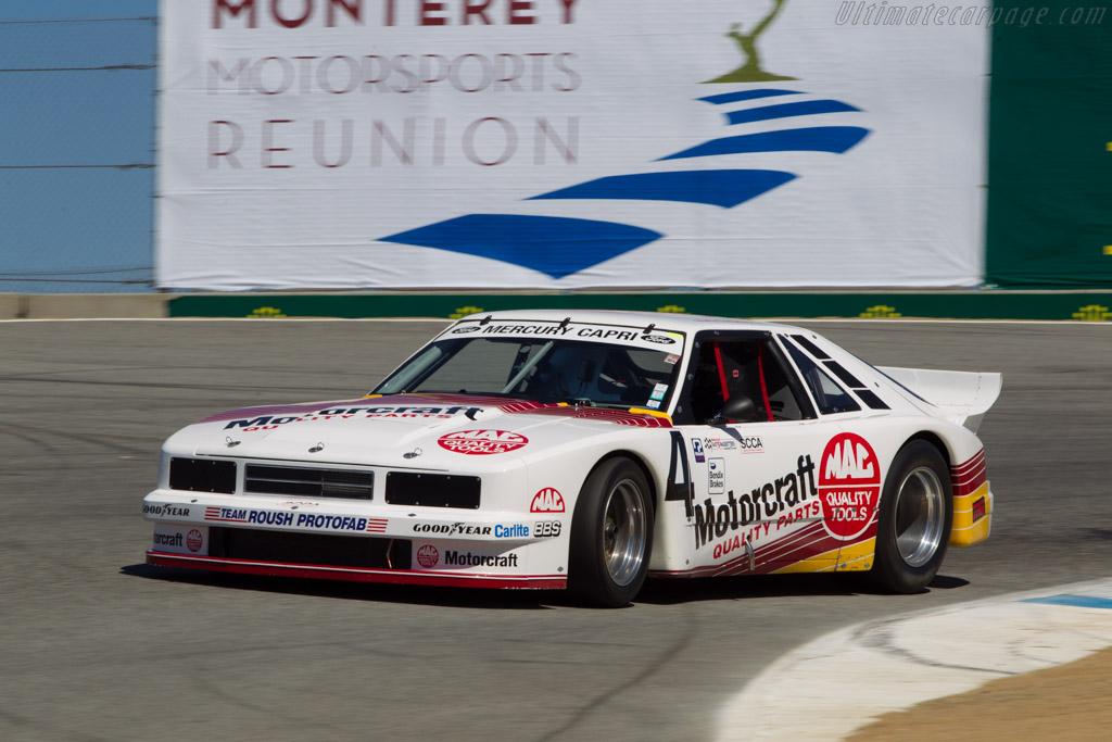Mercury Roush Capri - Chassis: 010   - 2013 Monterey Motorsports Reunion