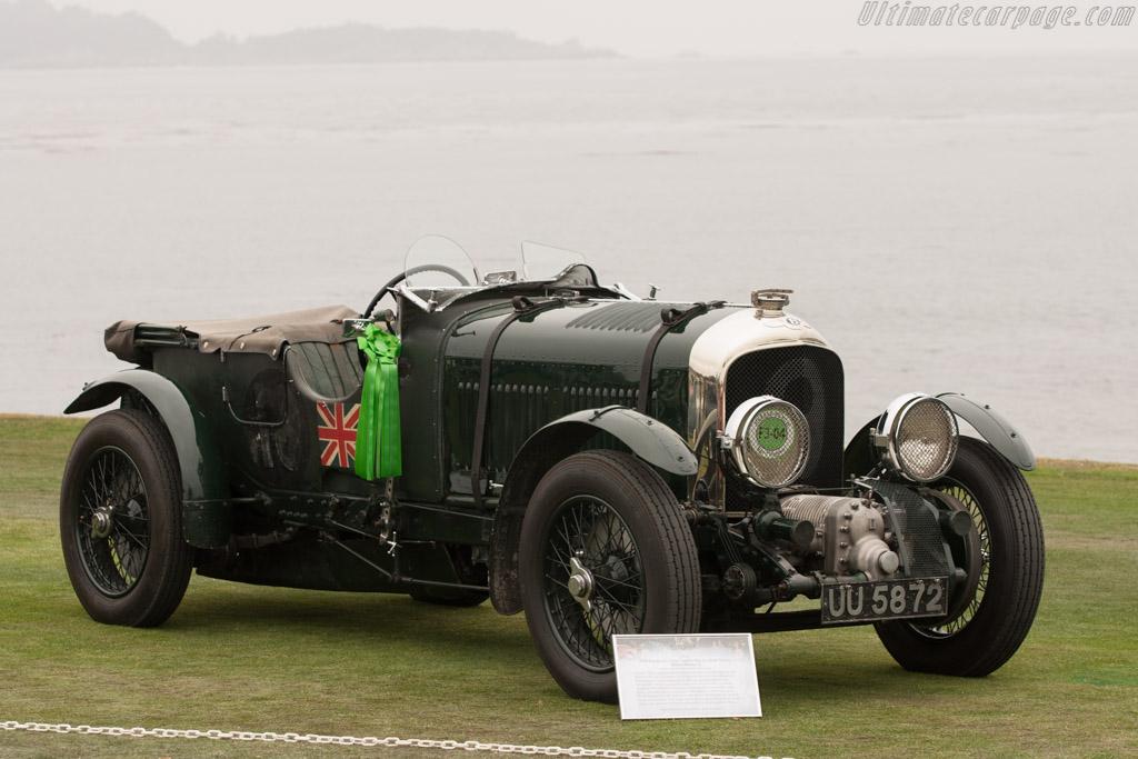 Bentley 4½-Litre 'Blower' Le Mans Tourer - Chassis: HB3403   - 2009 Pebble Beach Concours d'Elegance
