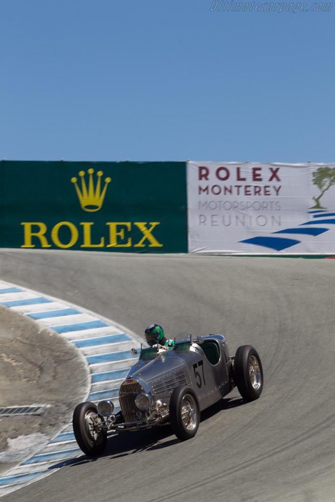 Bugatti Type 57 S Torpedo Competition - Chassis: 57222a   - 2014 Monterey Motorsports Reunion