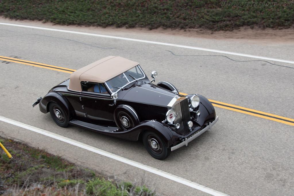 Rolls-Royce Phantom III Vanvooren Cabriolet - Chassis: 3CM81   - 2014 Pebble Beach Concours d'Elegance