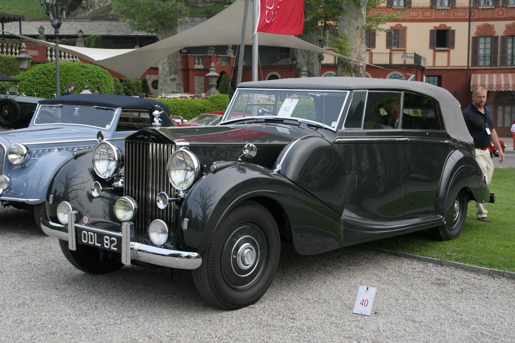 Rolls-Royce Phantom III Mulliner All-Weather Tourer - Chassis: 3DL56   - 2007 Concorso d'Eleganza Villa d'Este