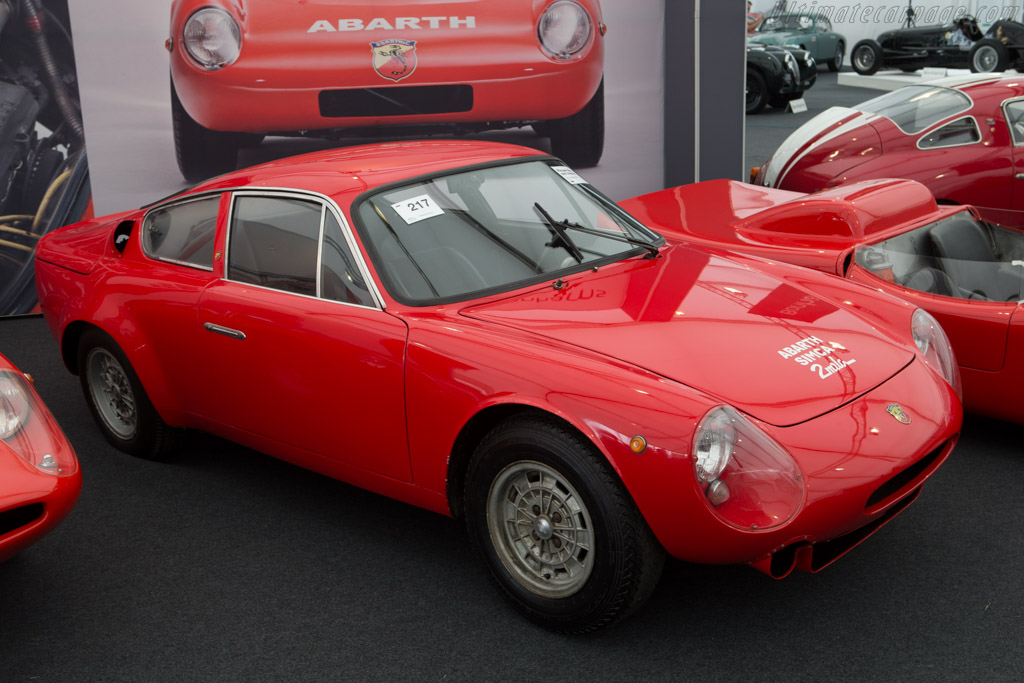 1963 1965 Abarth Simca 2000 Gt Chassis Ultimatecarpage Com