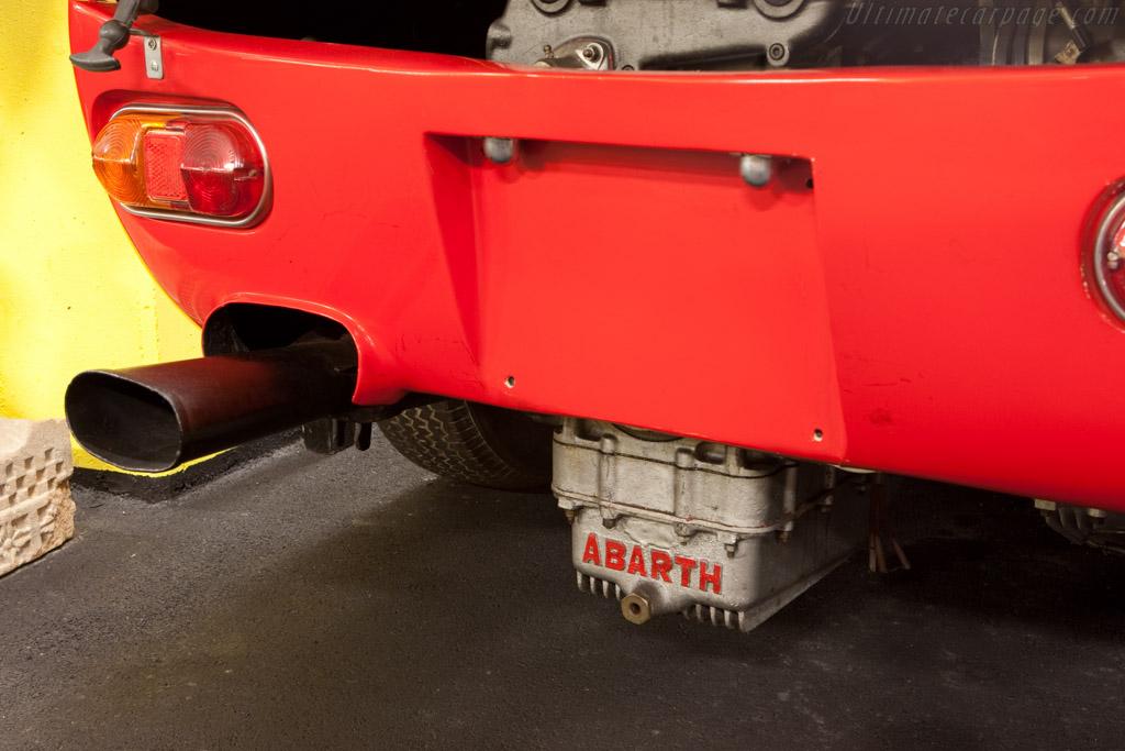 Abarth Simca 2000 Gt Chassis 136 0056 Maranello Rosso
