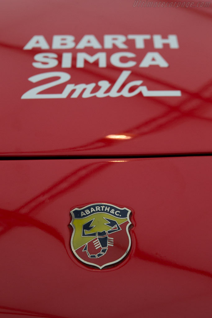Abarth Simca 2000 Gt Chassis 136 0056 2014 Goodwood