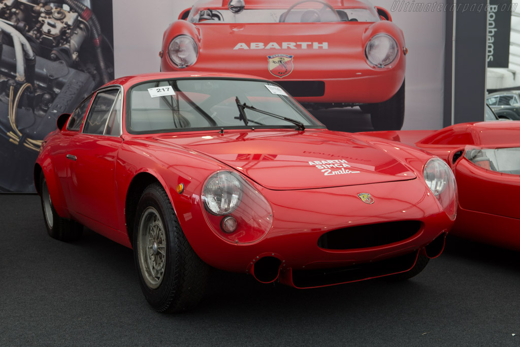 Abarth Simca 2000 GT - Chassis: 136.0056  - 2014 Goodwood Revival
