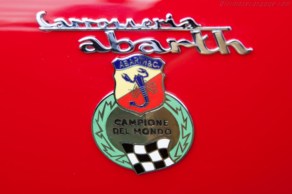 Abarth Simca 2000 GT - Chassis: 136.0117   - 2014 Pebble Beach Concours d'Elegance