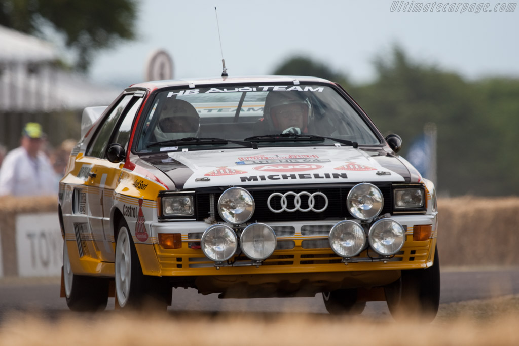 Audi Quattro A2 Group B Chassis 85zea900008 2009
