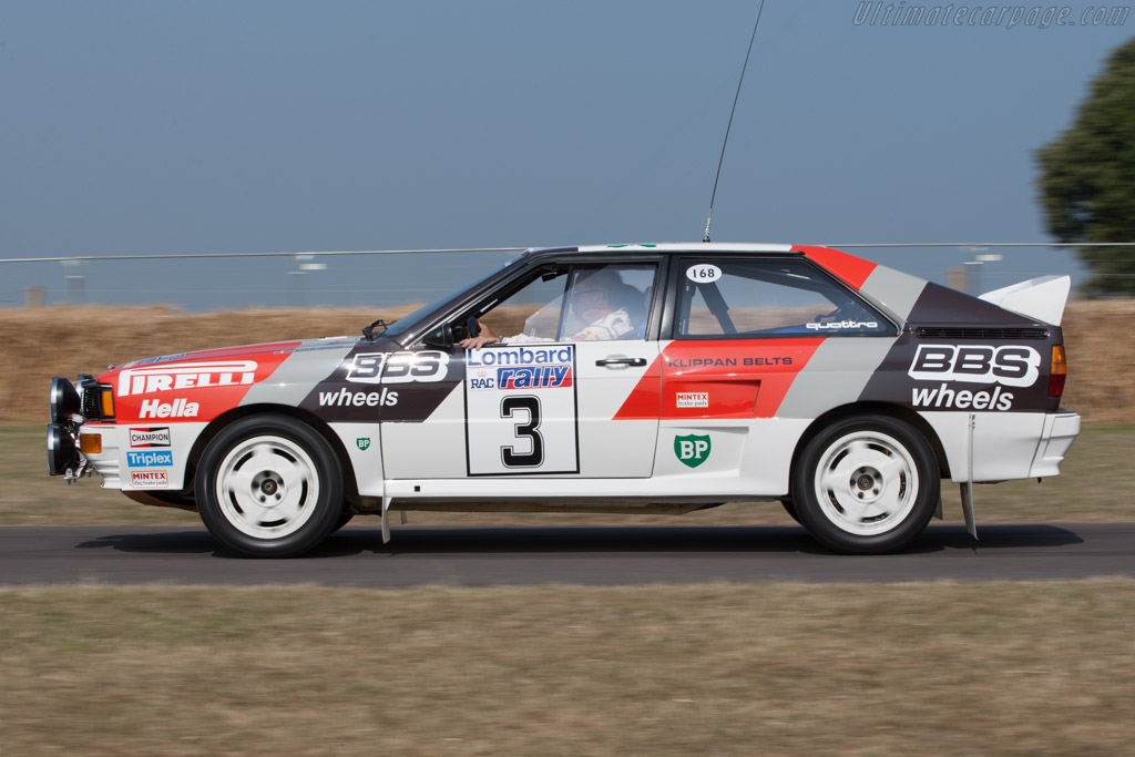 Audi Quattro A2 Group B Chassis Asuk0052 2013 Goodwood
