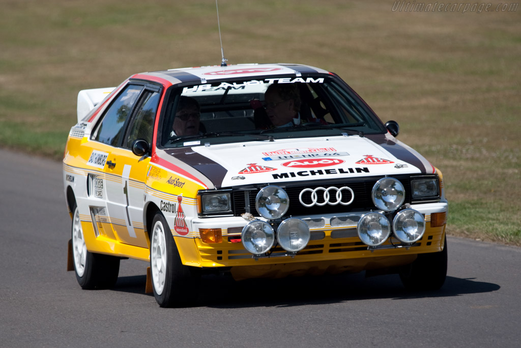 Audi Quattro A2 Group B - Chassis: 85ZEA900008   - 2009 Goodwood Festival of Speed