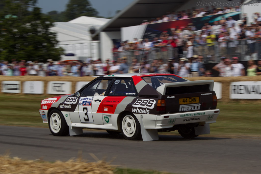 Audi Quattro A2 Group B Chassis Asuk0052 2013