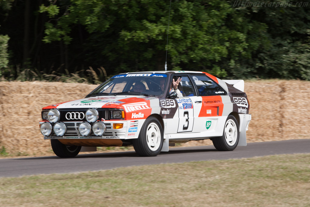 Audi Quattro A2 Group B - Chassis: ASUK0052   - 2013 Goodwood Festival of Speed