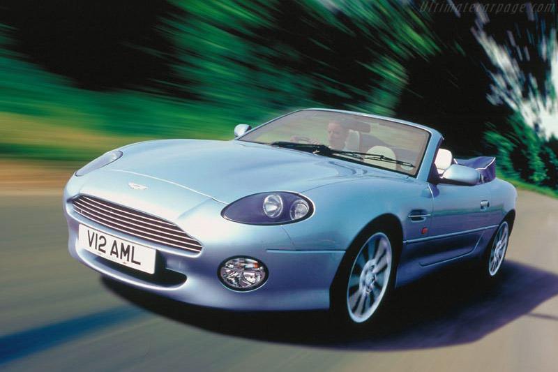 Click here to open the Aston Martin DB7 Vantage Volante gallery