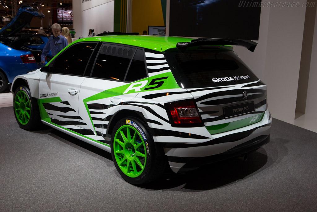 Skoda Fabia R5 Concept    - 2014 Essen Motor Show
