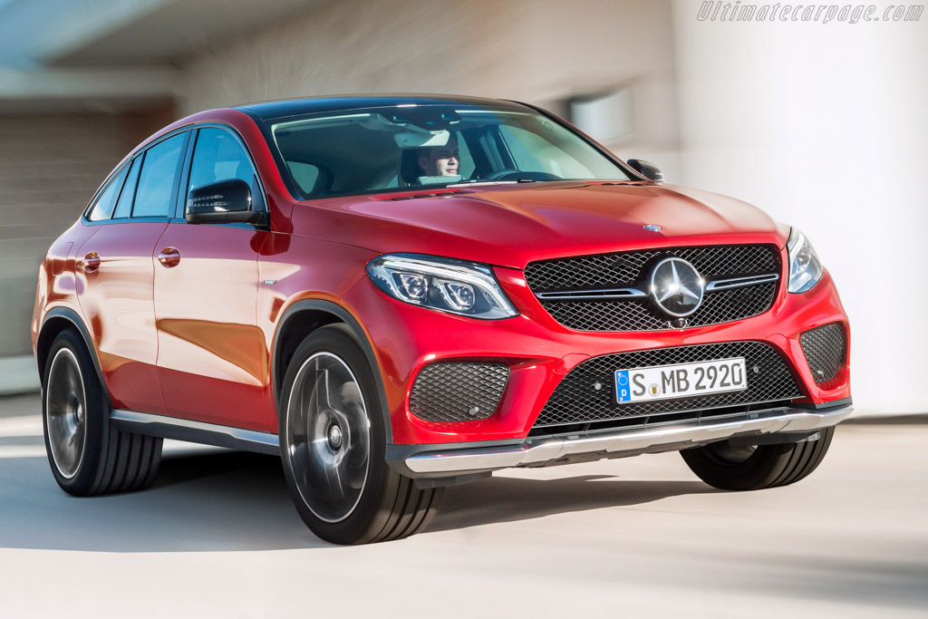 Click here to open the Mercedes-Benz GLE 450 AMG Coupé gallery