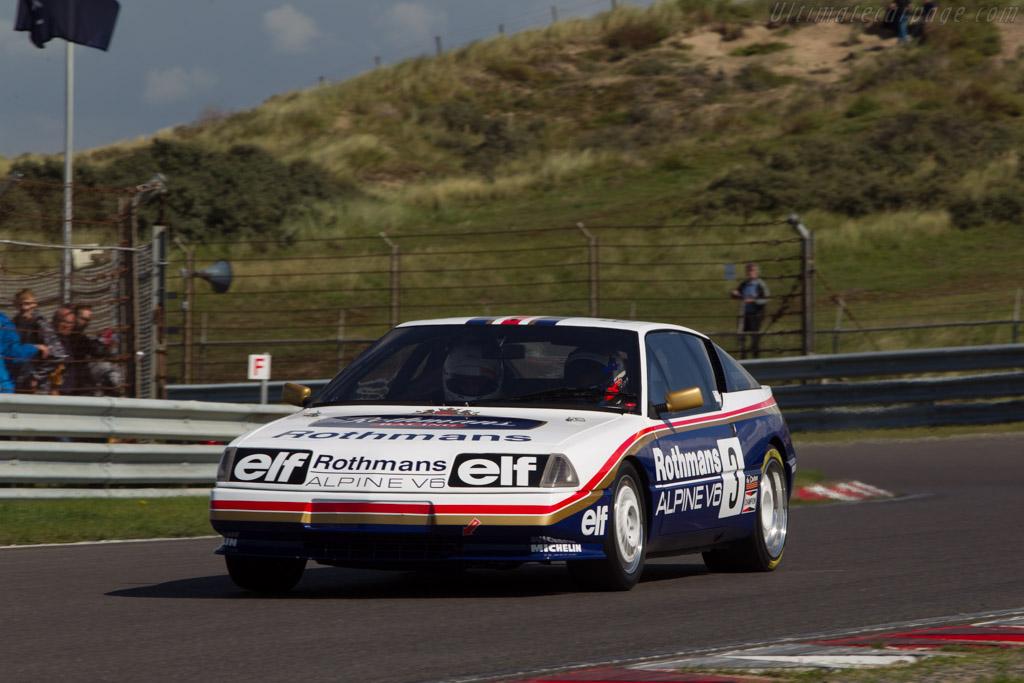 Renault-Alpine GTA V6 Turbo Europa Cup - Chassis: VFAD50105F0020034   - 2014 Historic Grand Prix Zandvoort
