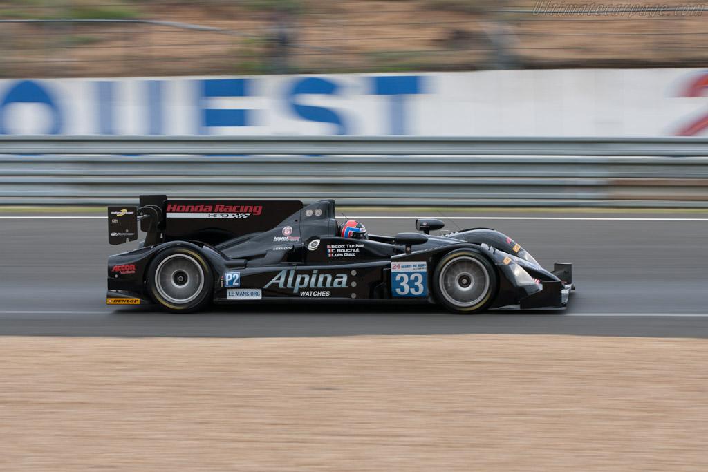 HPD ARX-03b - Chassis: 03   - 2012 Le Mans Test