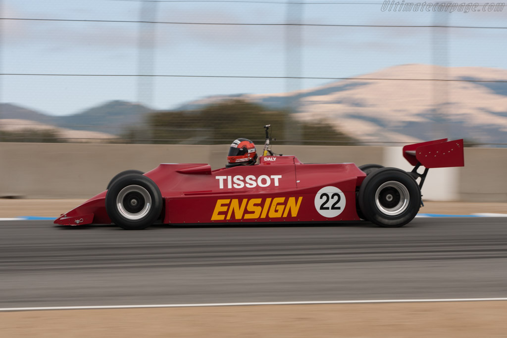 Ensign N179 Cosworth - Chassis: MN10   - 2010 Monterey Motorsports Reunion