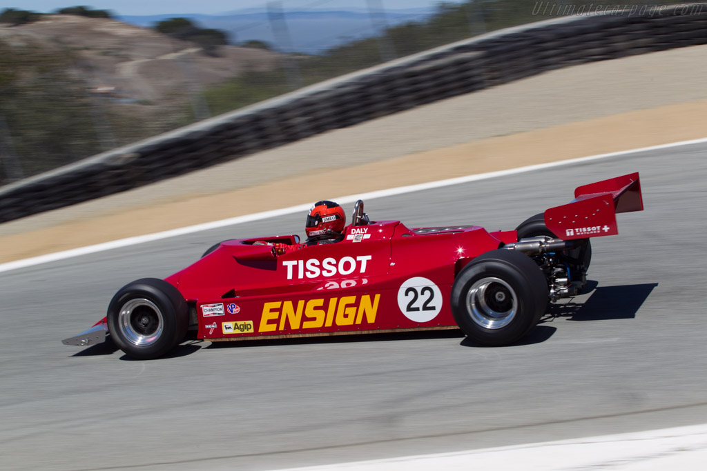 Ensign N179 Cosworth - Chassis: MN10   - 2013 Monterey Motorsports Reunion