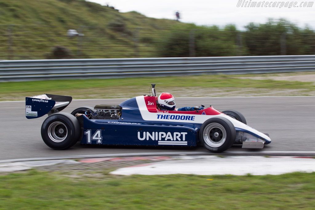 Ensign N180 Cosworth - Chassis: MN12   - 2014 Historic Grand Prix Zandvoort