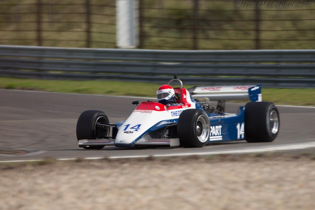 Ensign N180 Cosworth - Chassis: MN12   - 2014 Historic Grand Prix Zandvoort