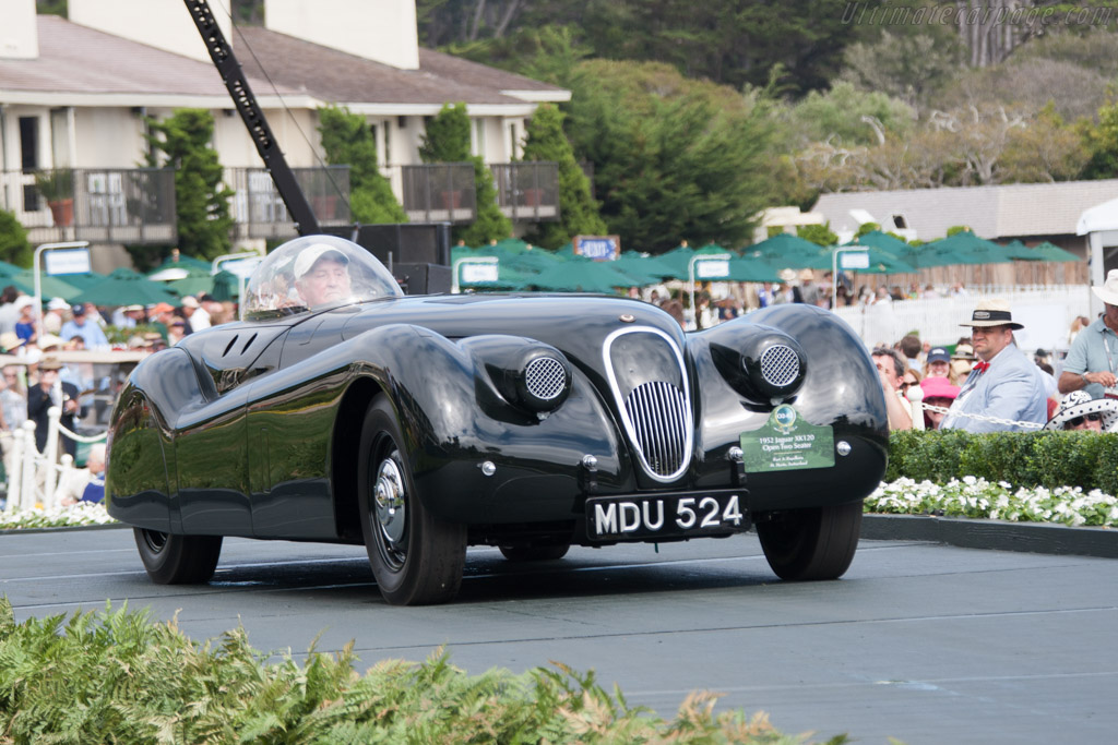 Click here to open the Jaguar XK120 Jabbeke Special gallery