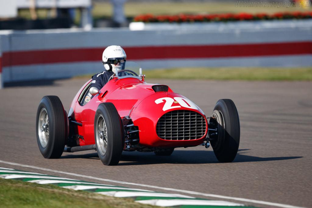 Ferrari 340 F1 - Chassis: 125-C-04  - 2019 Goodwood Revival