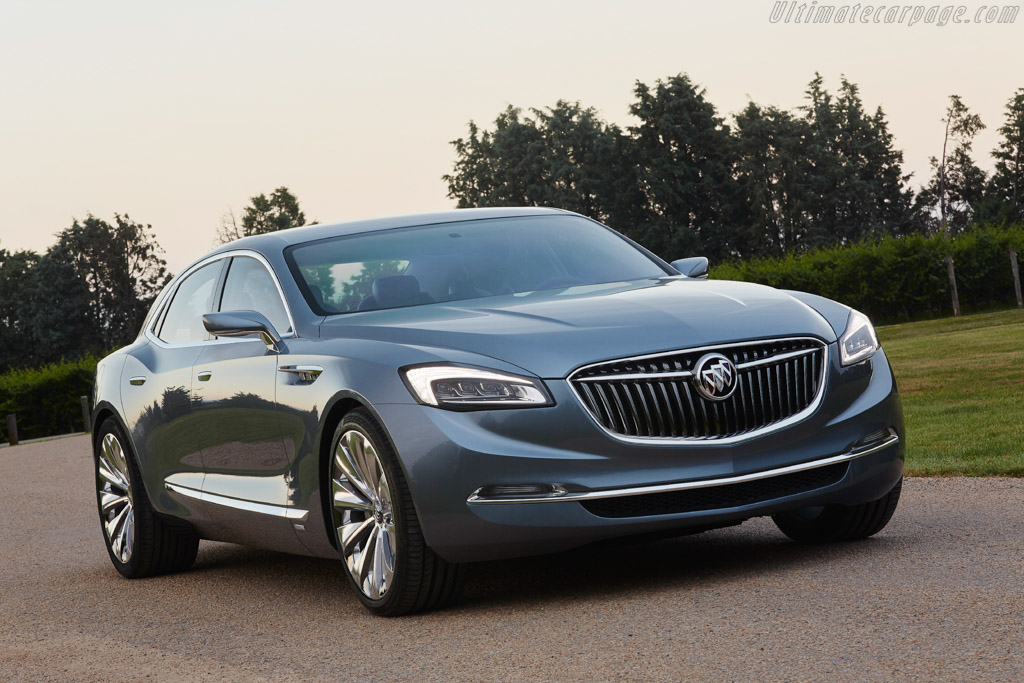 Click here to open the Buick Avenir Concept gallery