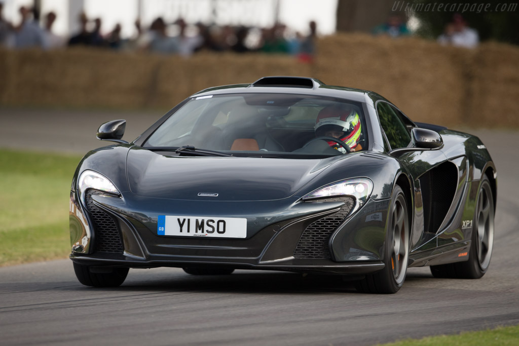 McLaren 650S Le Mans    - 2015 Goodwood Festival of Speed