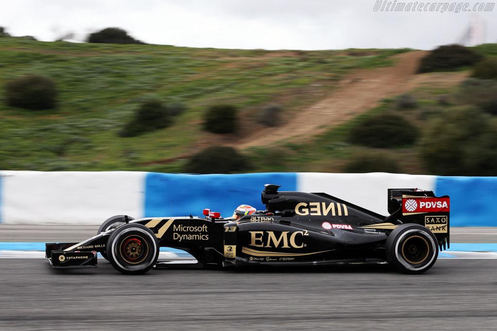 Lotus E23 Hybrid Mercedes Chassis E23 02 2015 Formula 1