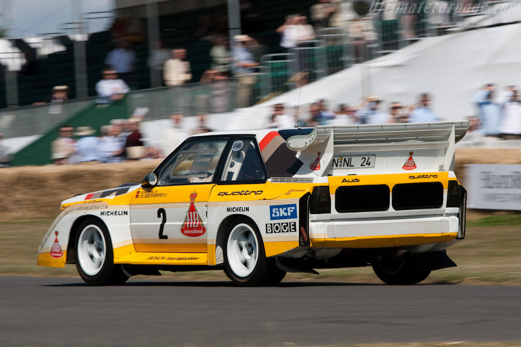 Audi S1 2018 >> Audi Sport Quattro S1 - Chassis: 85ZGA905013 - 2009 Goodwood Festival of Speed