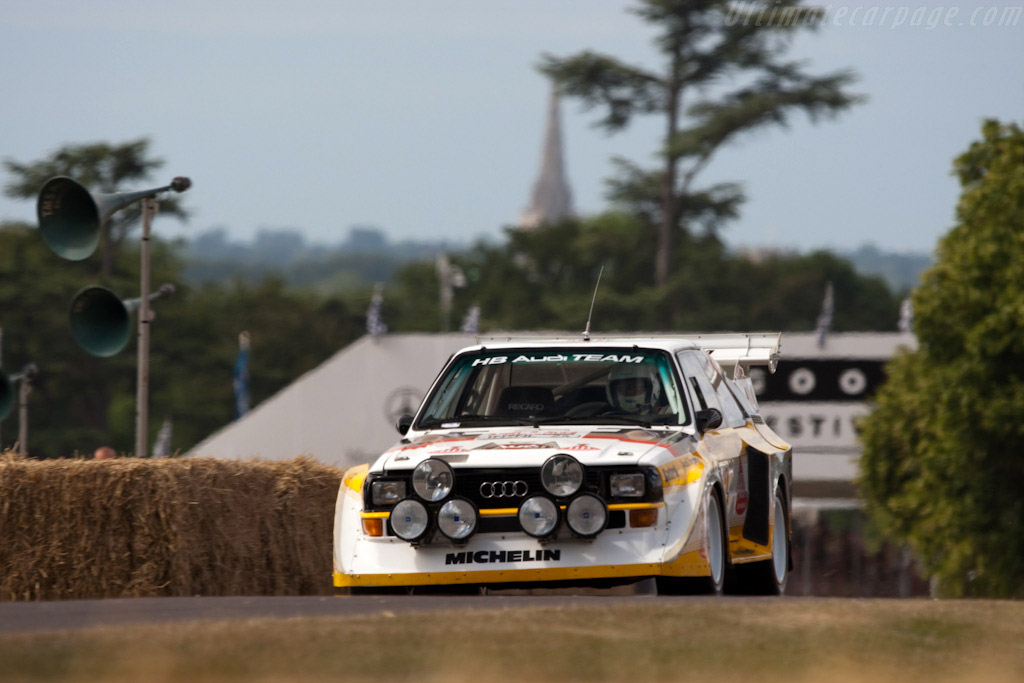 Audi Sport Quattro S1 - Chassis: 85ZGA905013   - 2009 Goodwood Festival of Speed