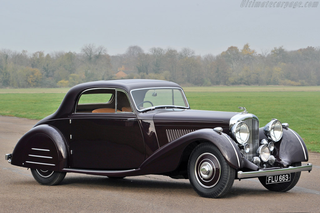 1938 Bentley 4 Park Ward Sports Coupe Images
