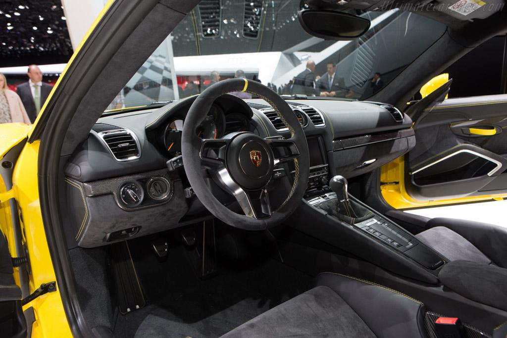 Porsche Cayman GT4    - 2015 Geneva International Motor Show