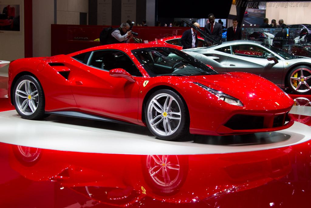 Ferrari 488 GTB - Chassis: 208645   - 2015 Geneva International Motor Show